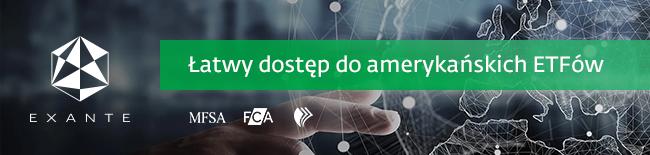 Uzyskaj dostęp do amerykańskich ETF